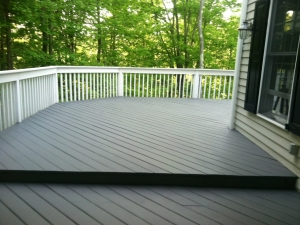 Deck in Wilton ~ After