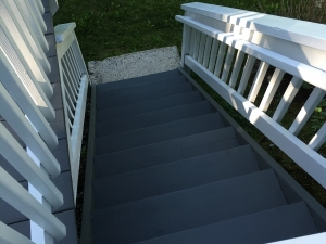 MUNCULTY DECK STAIRS AFTER