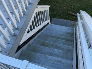 MUNCULTY DECK STAIRS BEFORE