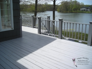 DECK BY THE WATER FINISHED