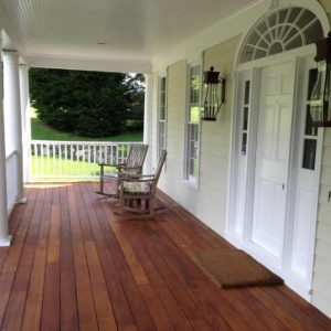 Deck and Porch Restoration  in New Canaan, Ct.