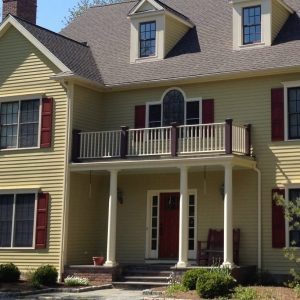 Exterior House Painting  in New Canaan, Ct.