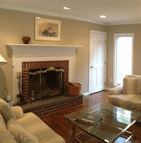 Interior House Painting  in New Canaan, Ct.