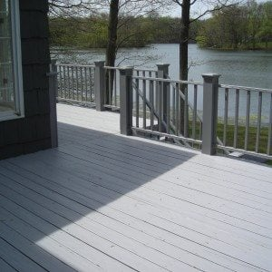 Restored Deck -Painted