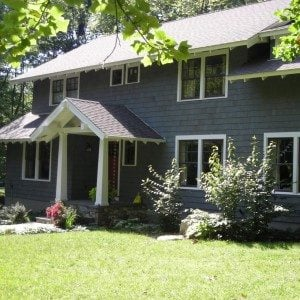 Benjamin Moore Grey Exterior House Paint