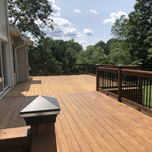 Deck and Porch Restoration  in Wilton, Ct.