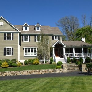 Exterior House Painting  in Wilton, Ct.